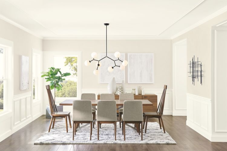 Enduring Allure of White - dining room - A Timeless Look