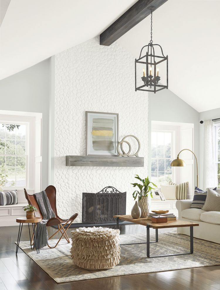 3 Ways to Use White Paint Colors White - loving room - Tinted to Perfection