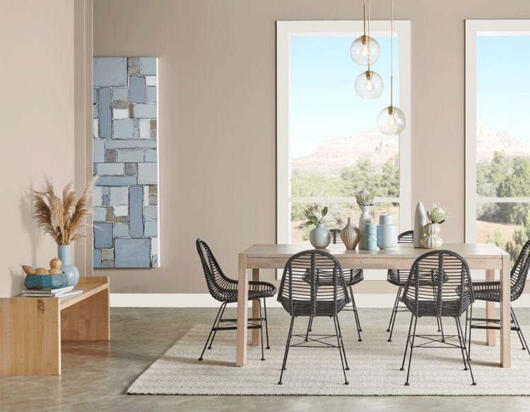 Light Gray Dining room