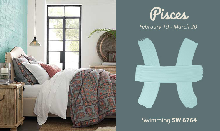 Pisces - bed,