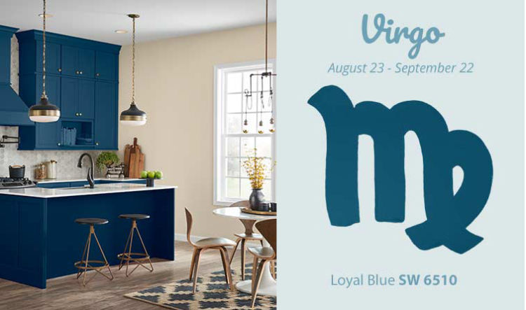 Vigro - sea blue kitchen