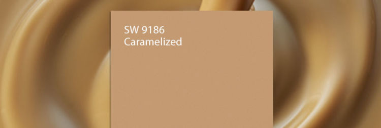 caramel color swatch