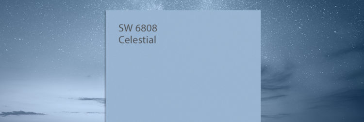 celestrial blue color swatch