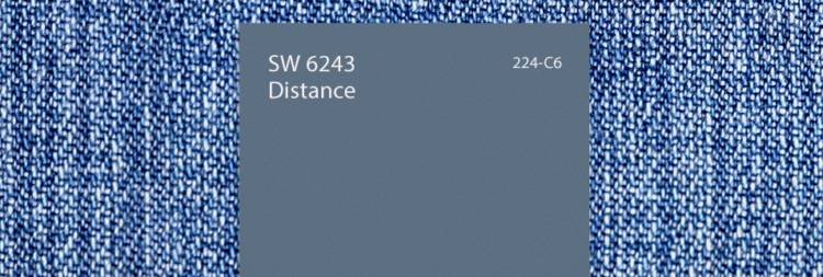 color swatch - SW 6243 - grayish blue