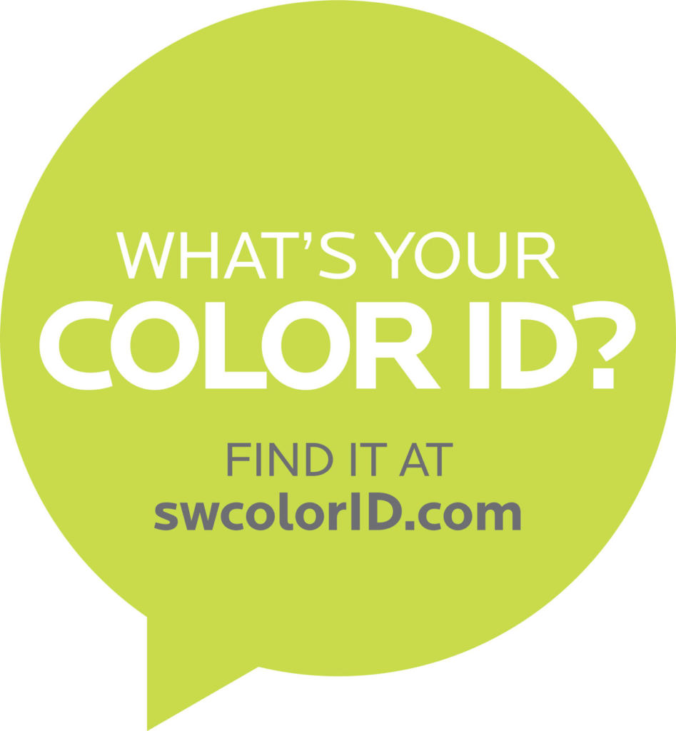 circle with text - What is your color ID? Find it at swcolorid.com