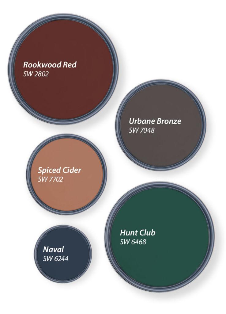 circles with bold color shades