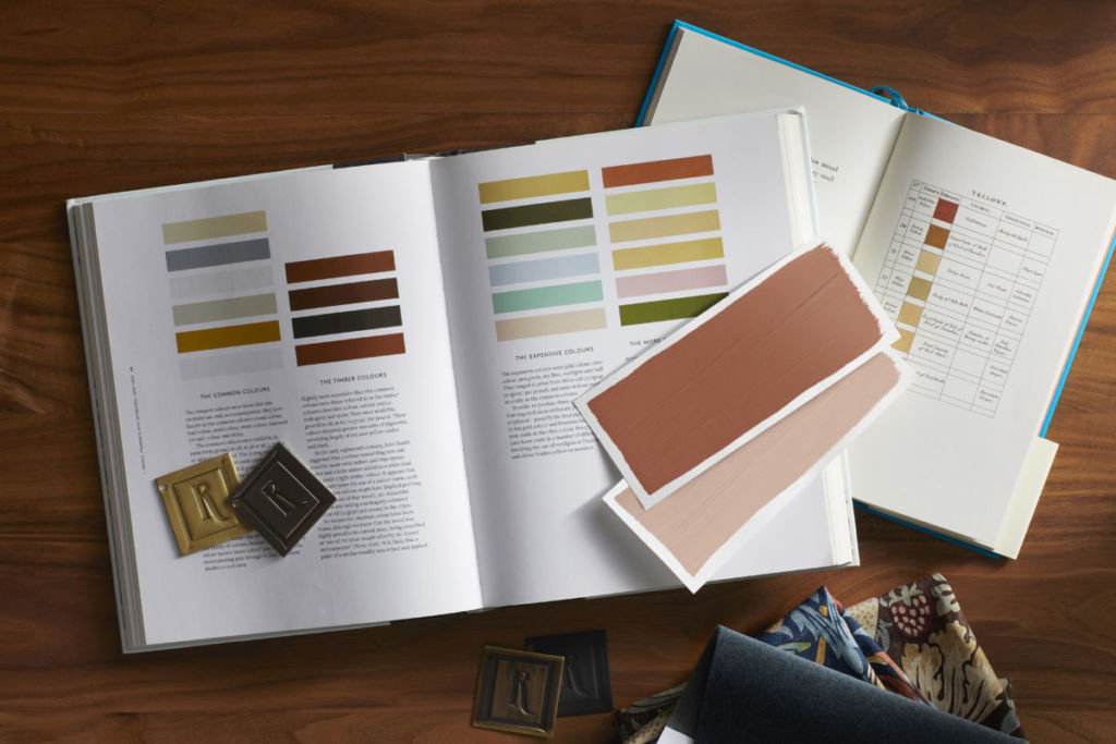books with color samples