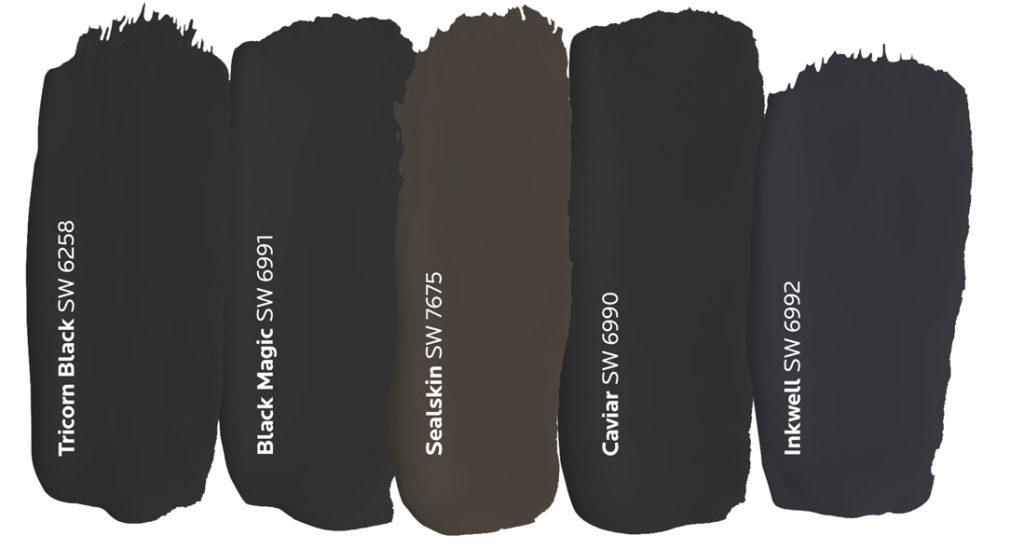 Black Paint Dabs