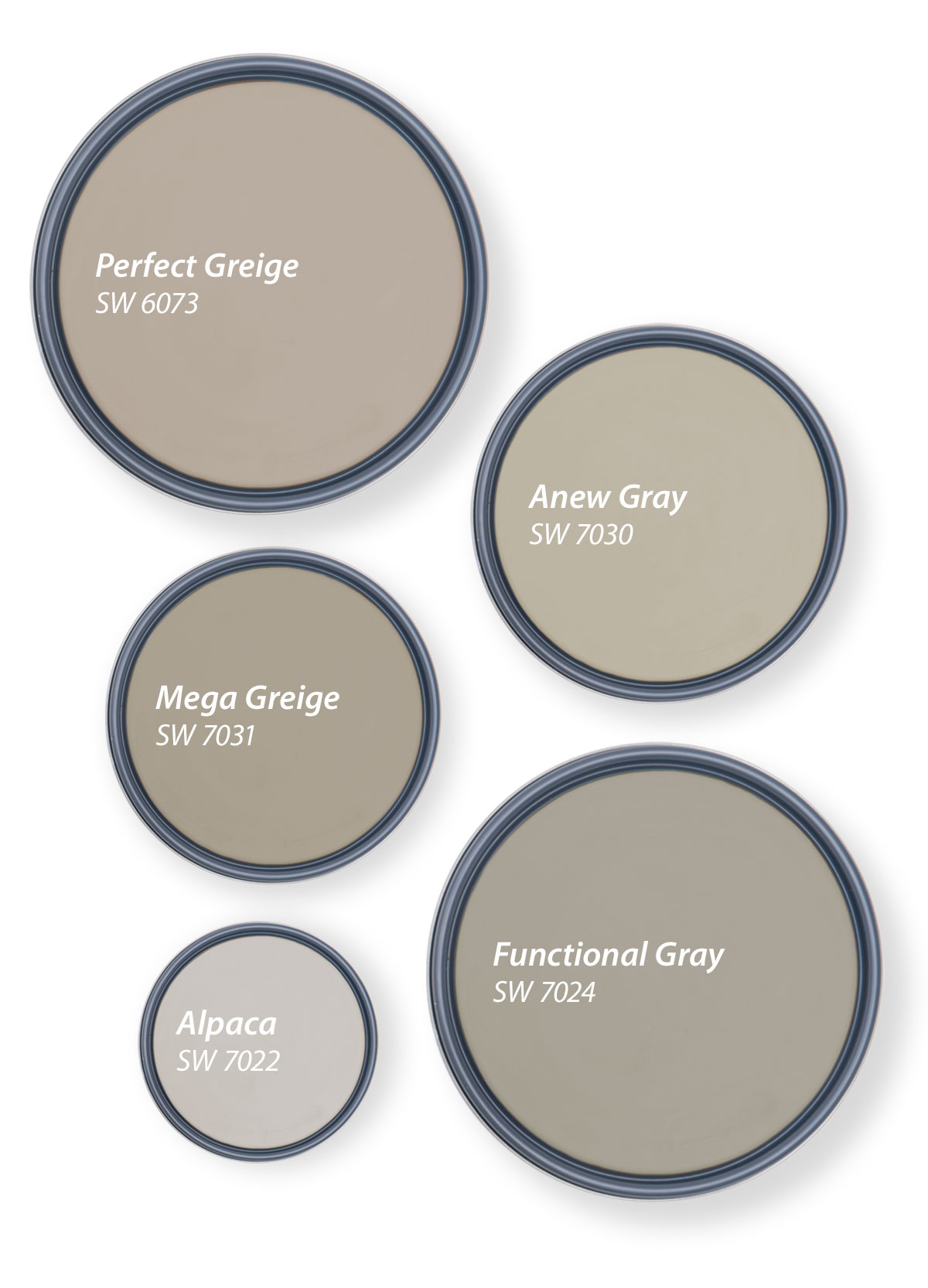 Our Top 20 Shades of Greige   Tinted by Sherwin Williams