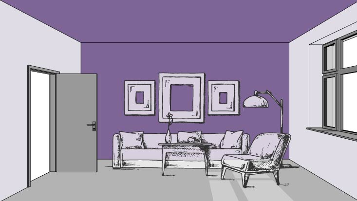 Color and Perspective: Widen Your Space