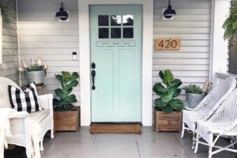 5 Bold Front Door Colors We Love