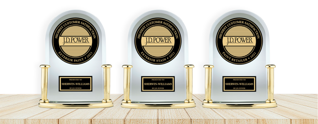 2021 J.D. Power Award Trophies