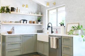 5 Botanical Green Kitchens We Love